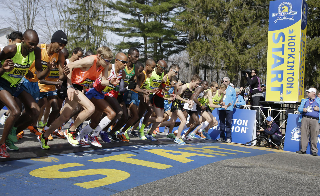 Sports Psychology Expert Dr Justin Ross Managing Excitement at Boston Marathon